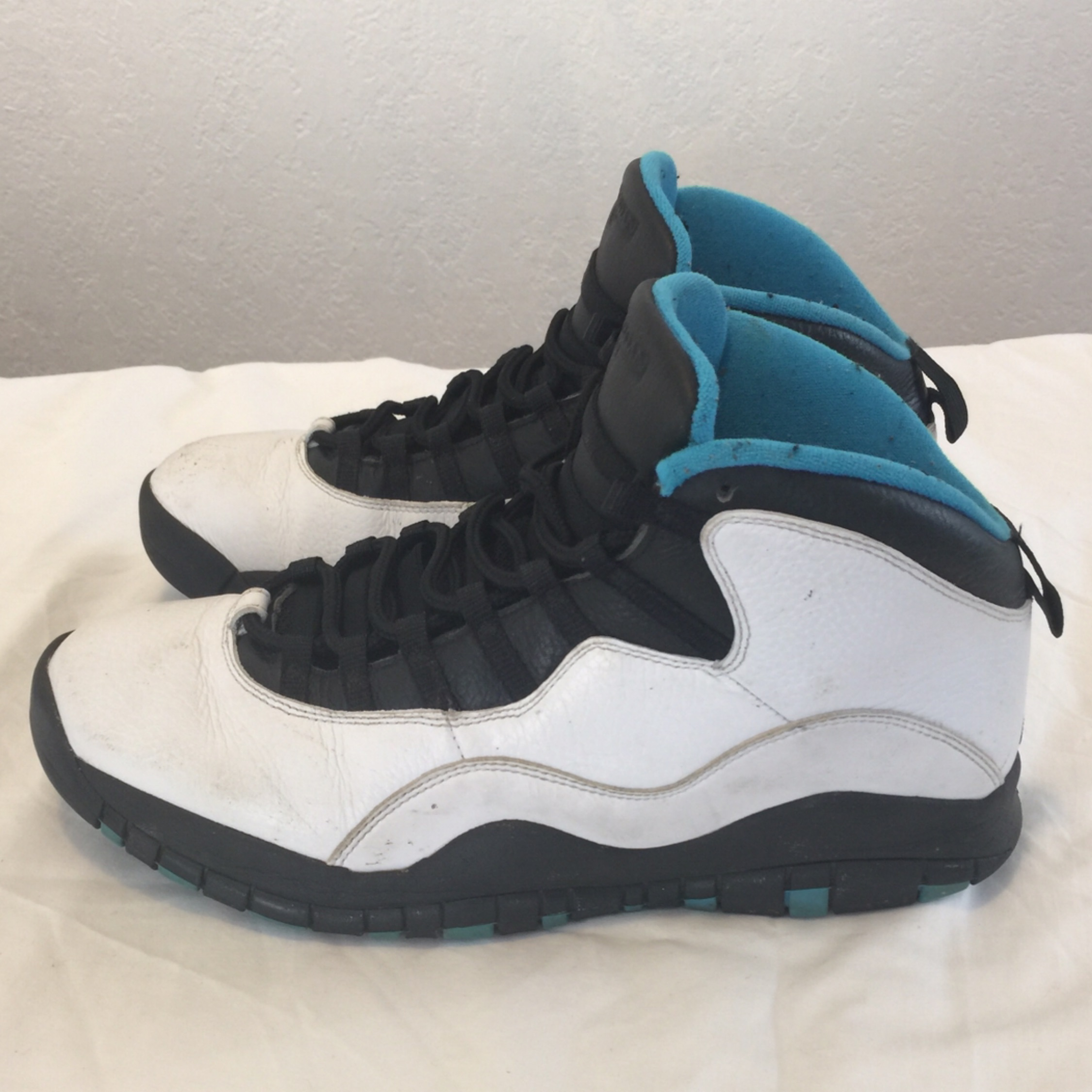 separation shoes e9cfe 74352 Air Jordan Retro 10 - Powder Blue - Sz 12