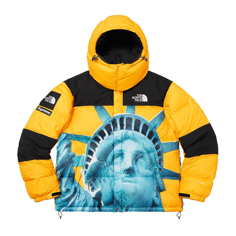 Supreme The North Face Statue of Liberty Baltoro Jacket Yellow