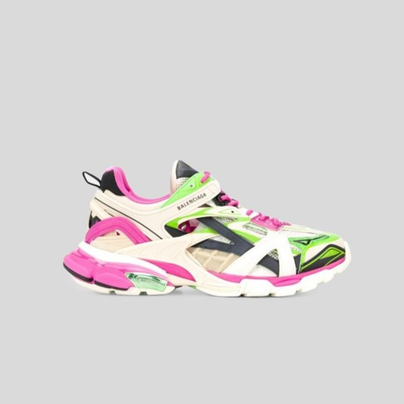 Balenciaga Track Trainers in Pink and