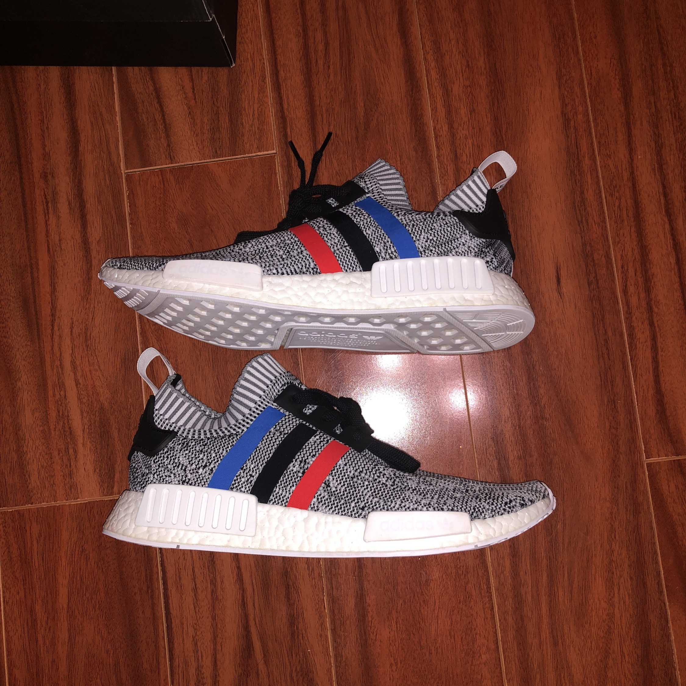 Adidas Nmd R1 Tri Color Size 11.5