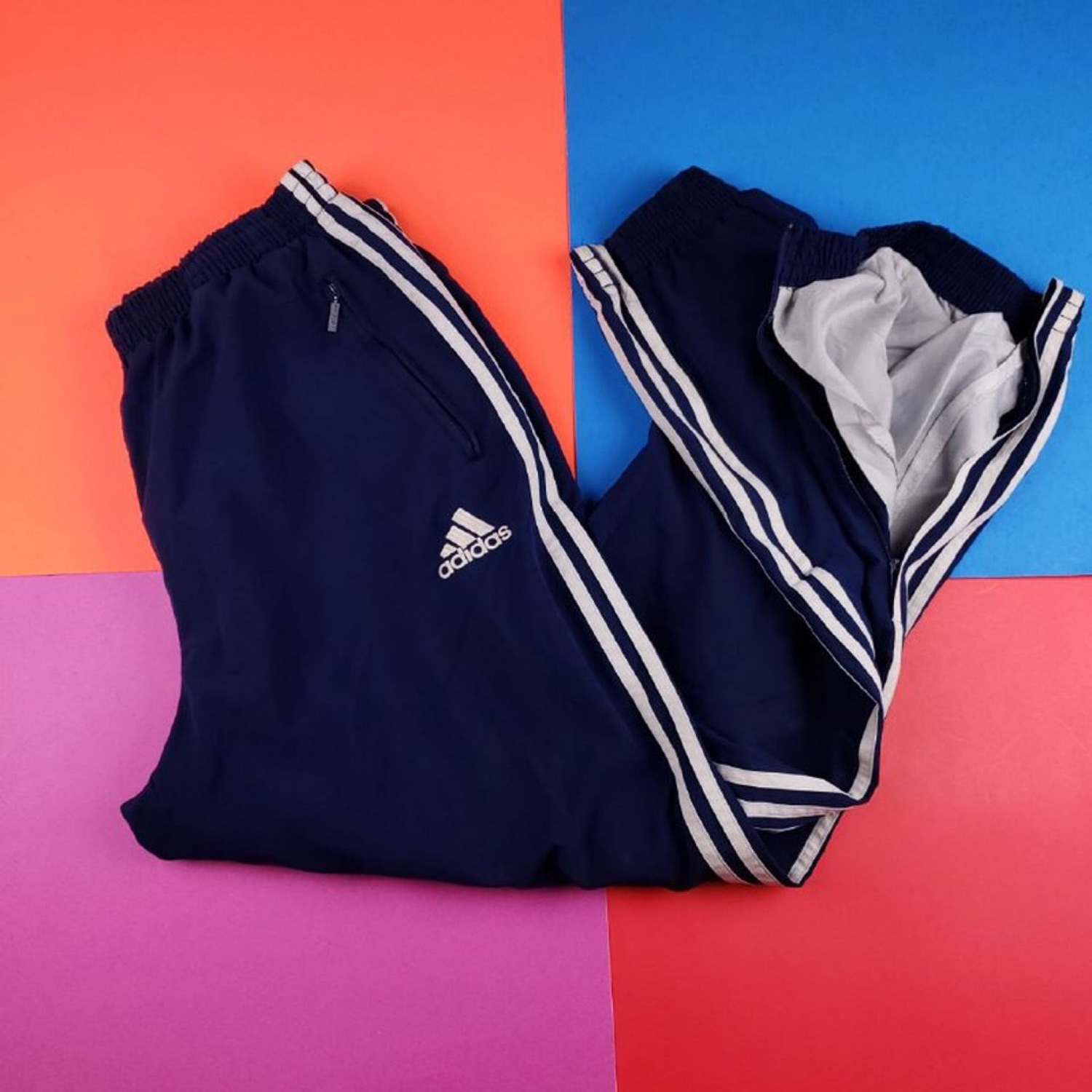 Vintage 90'S Adidas Sweat Insulated Track Pants