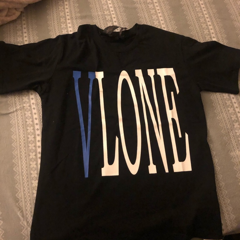 VLONE Staple Tee Blue Black Size Small