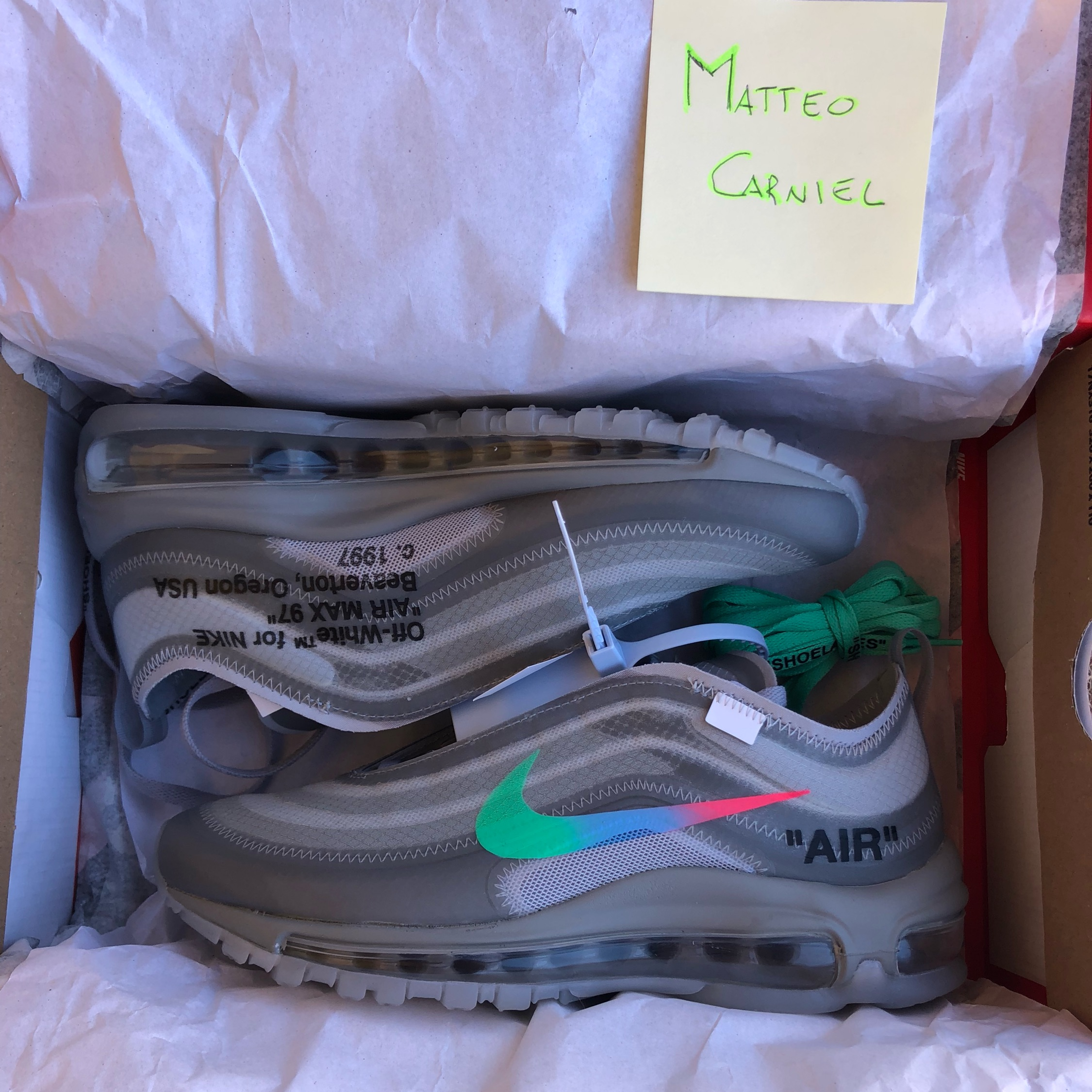 air max 97 og off white menta