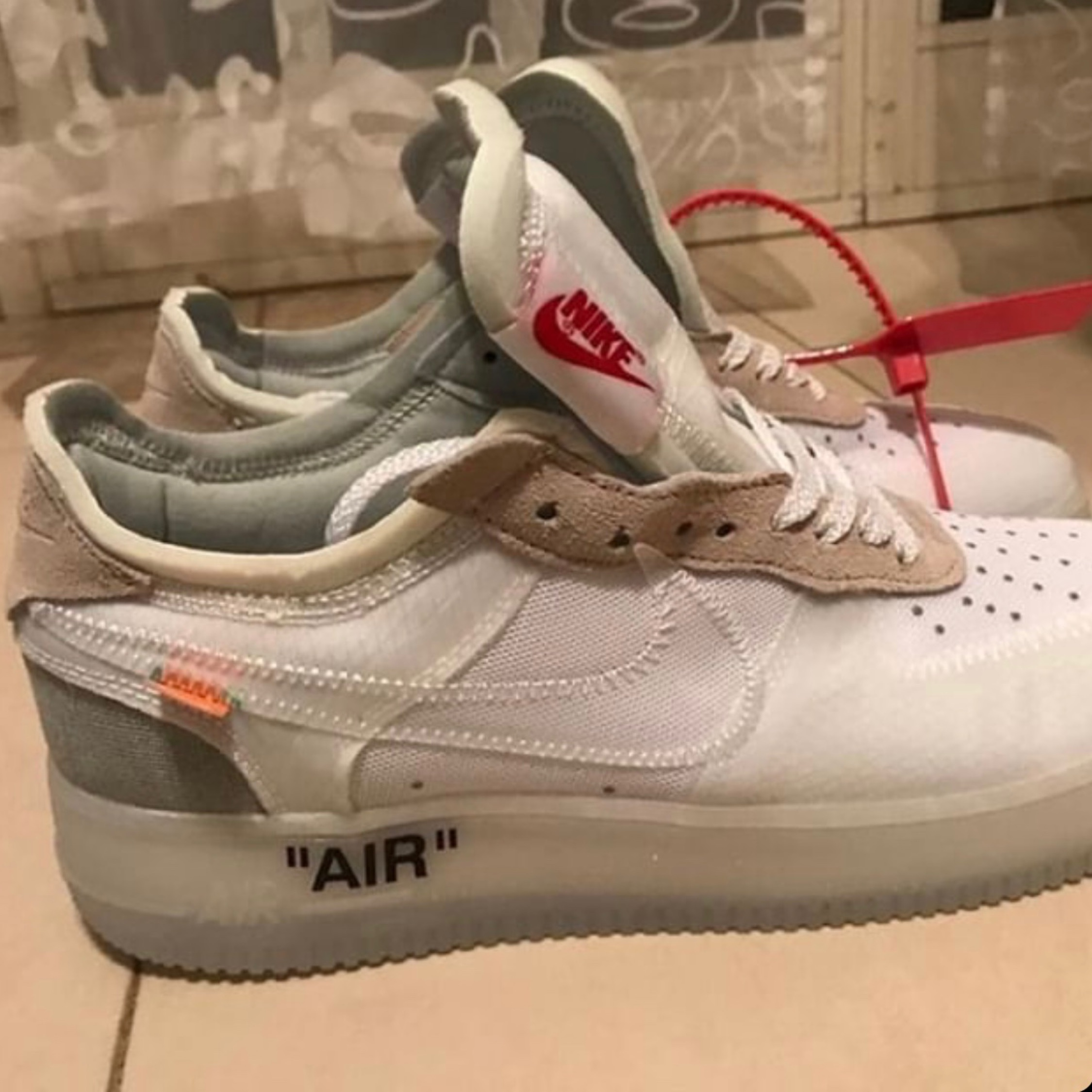 Nike Air Force 1 Low Off White Ghosting