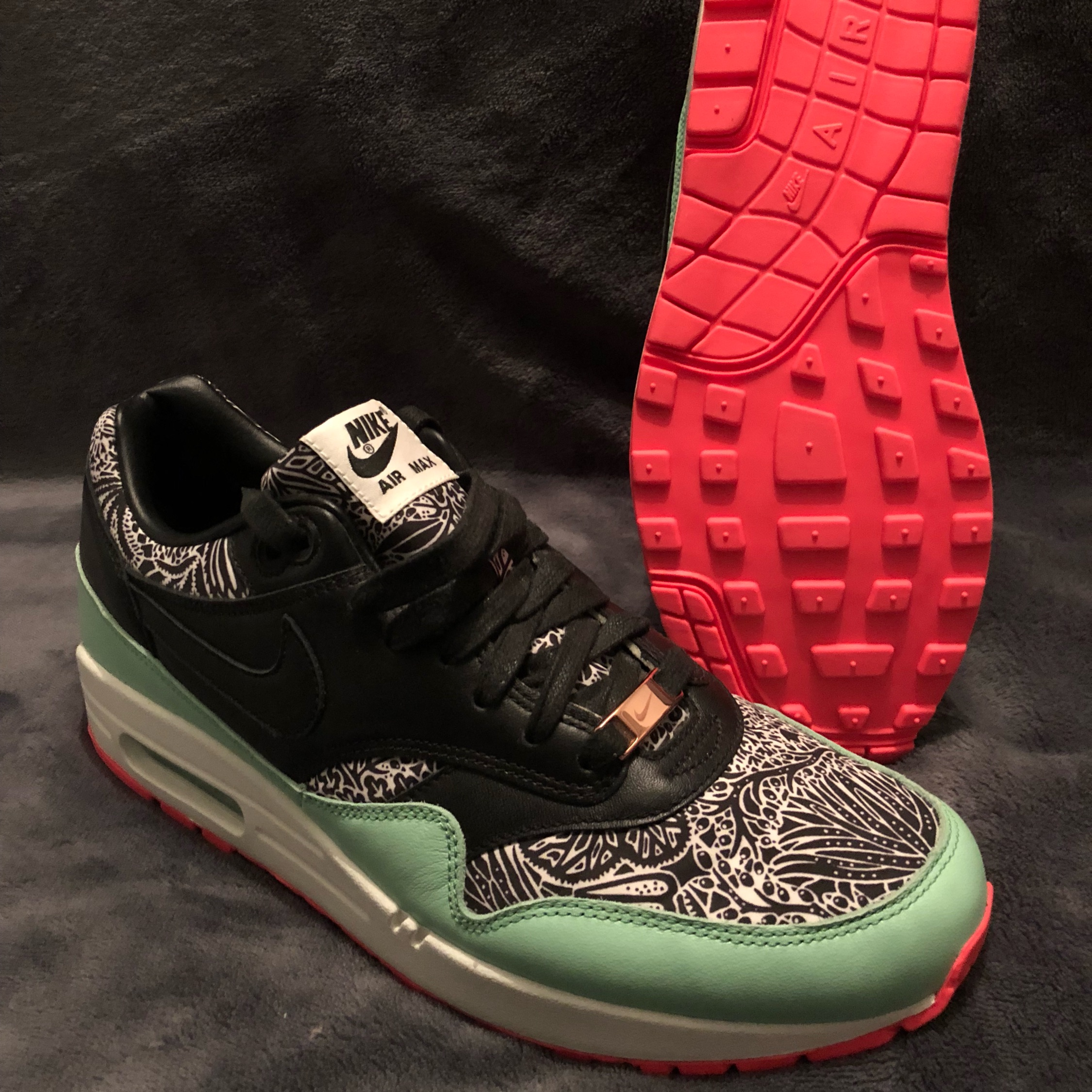 the latest 5f1bb ad9d5 Nike Air Max 1 Id. Liberty Of London Fabric