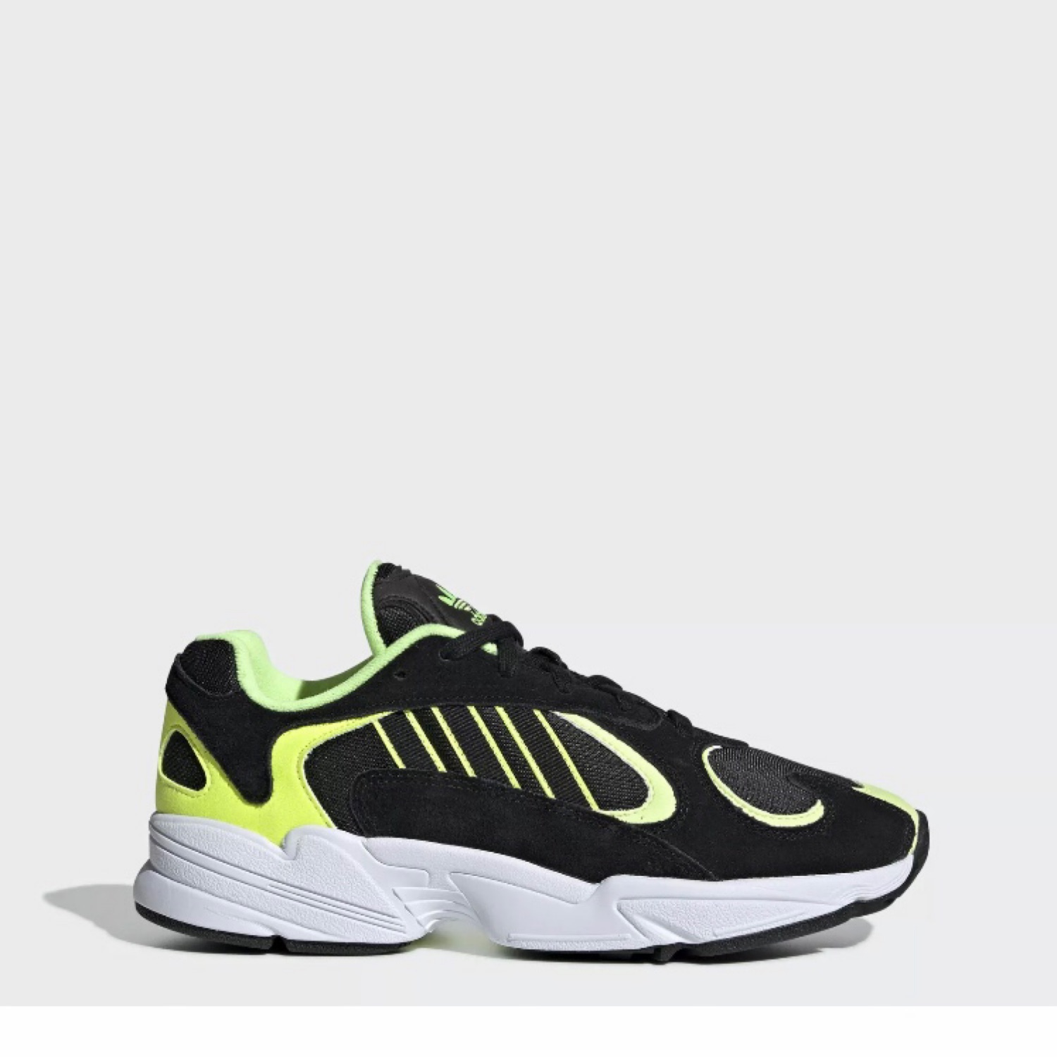 good selling large discount quality products Adidas Yung 1 Black Neon Men's Size 10