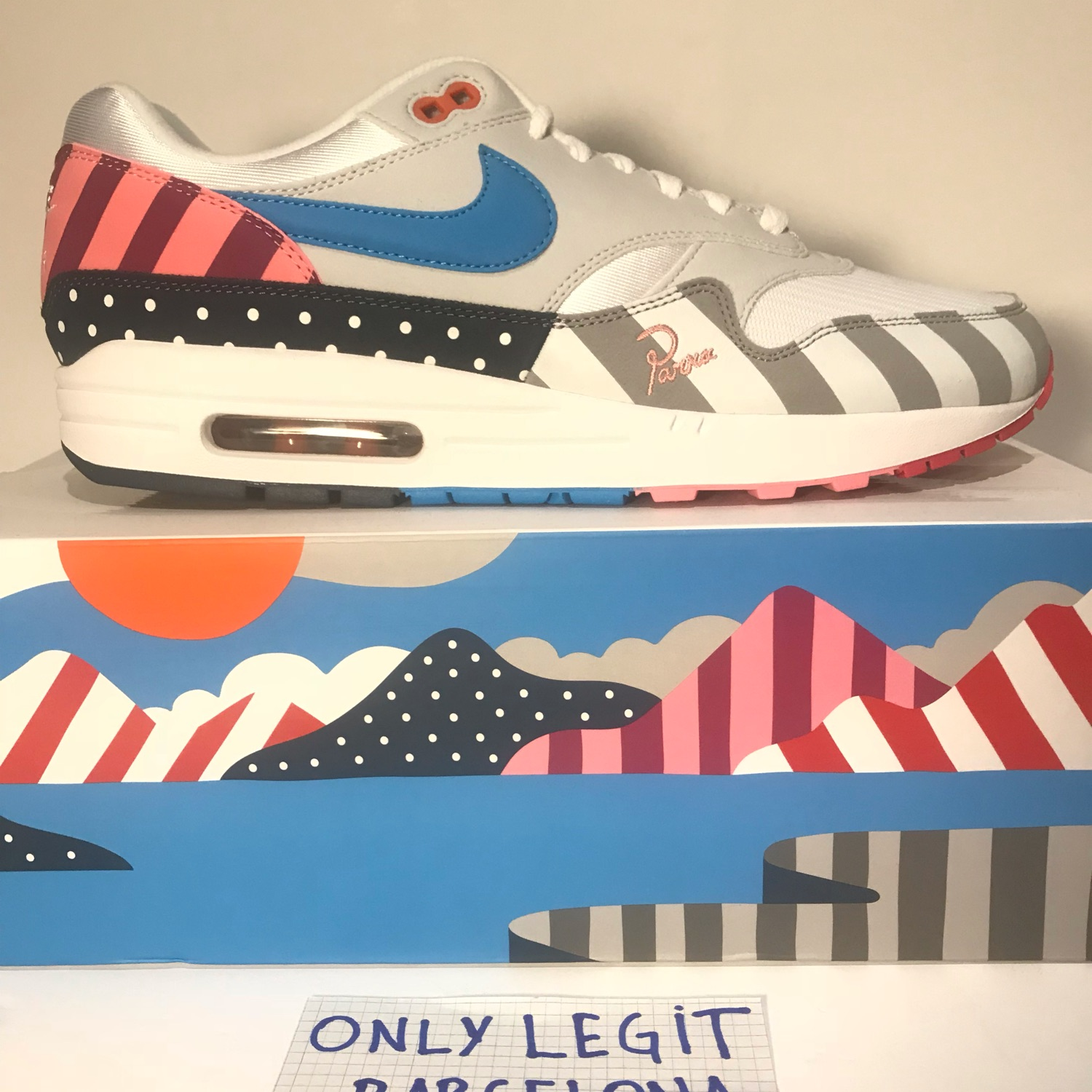 buy popular 61947 082a7 Nike Air Max 1 Parra 2018 Ds Size 11,5 Us