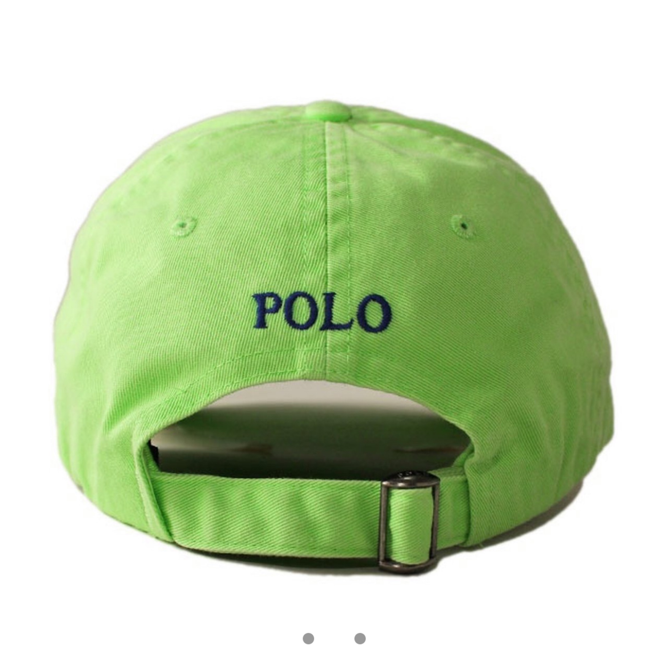 be6fec59bf Lime Green Polo Hat 10 10 New With Tags