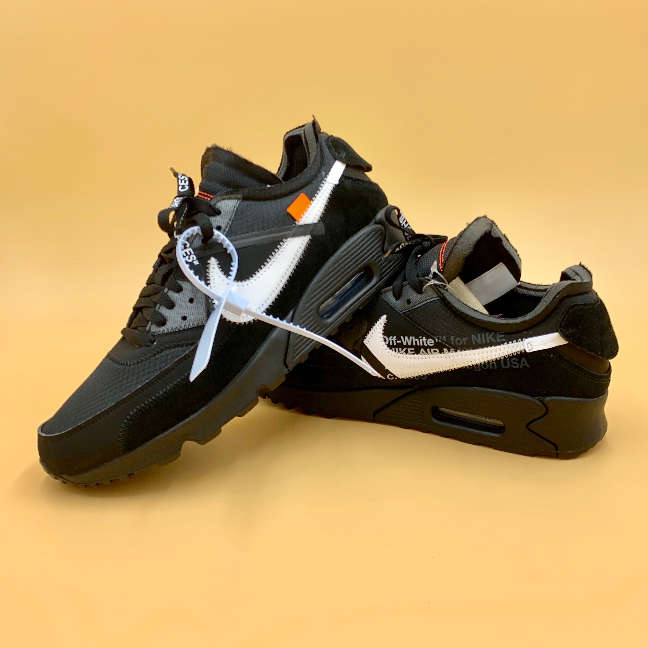 premium selection ffb31 3f50c Nike Air Max 90 X Off—White Black
