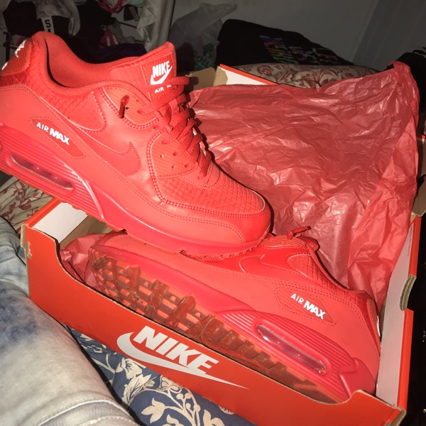 Nike Air Max 90 Hyperfuse Qs Independence Day Red