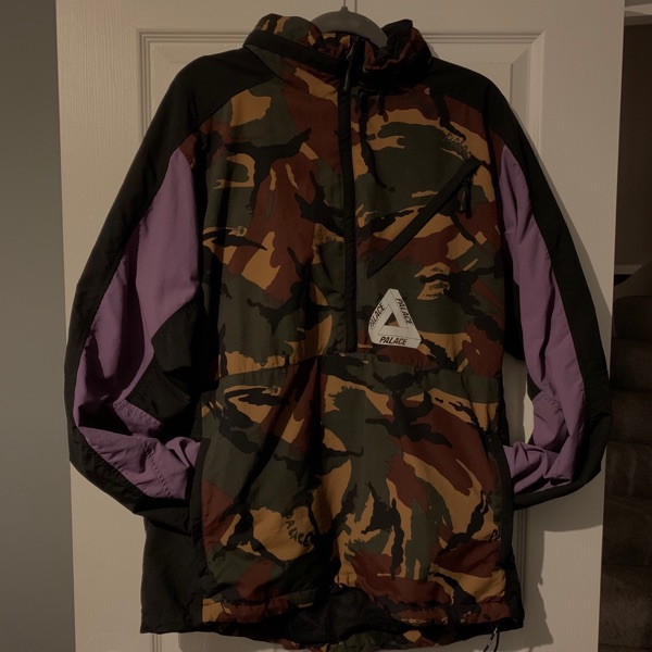Palace Moorish Shell Top Black / Dpm / Grape