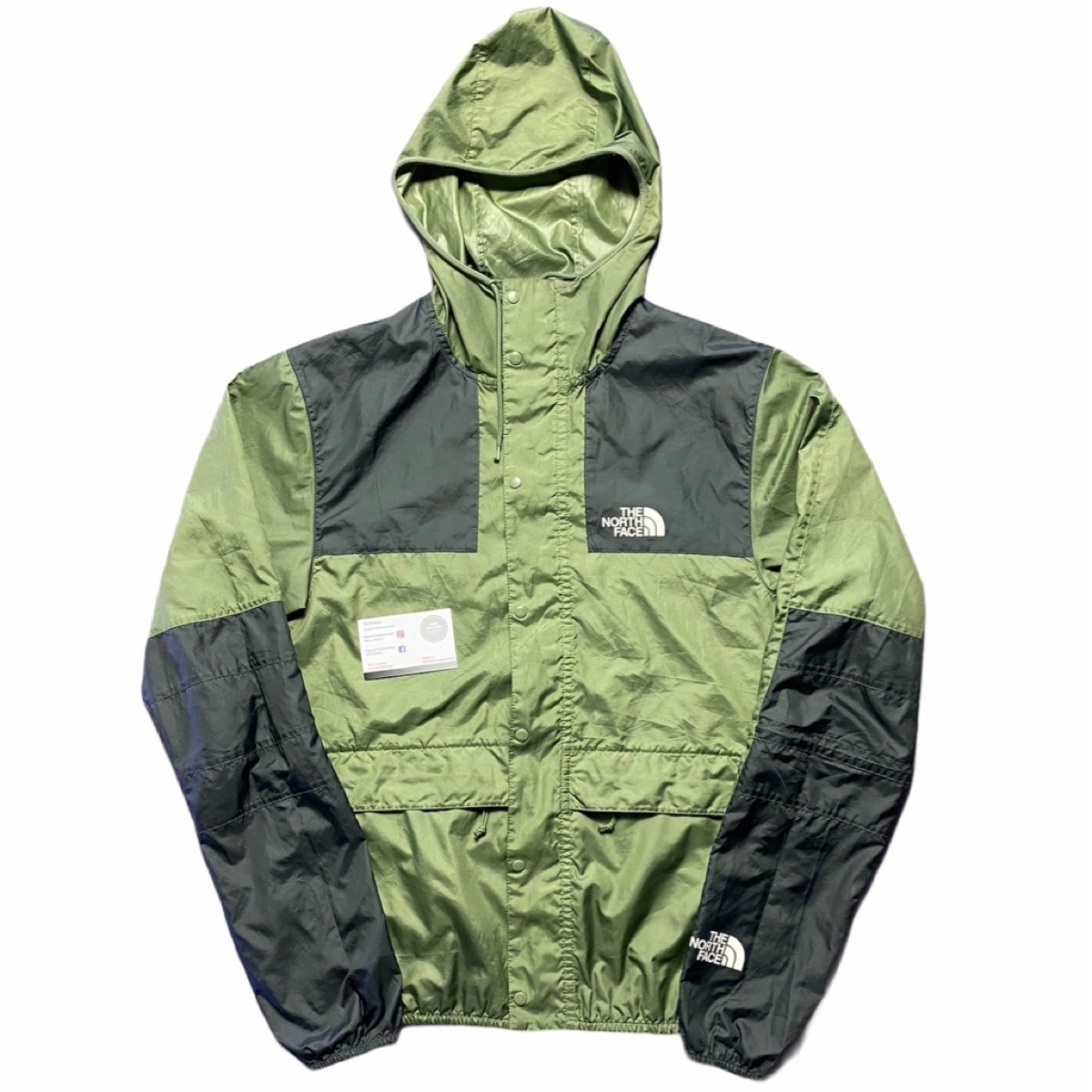 The North Face Olive Windbreaker Jacket