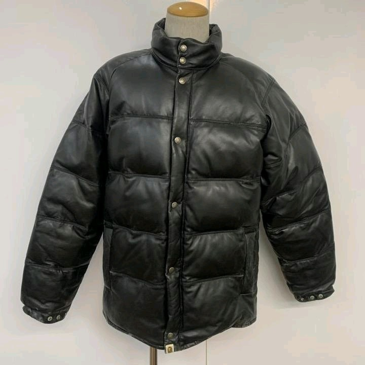 Leather Jackets Black Sheep Skin Quilted
