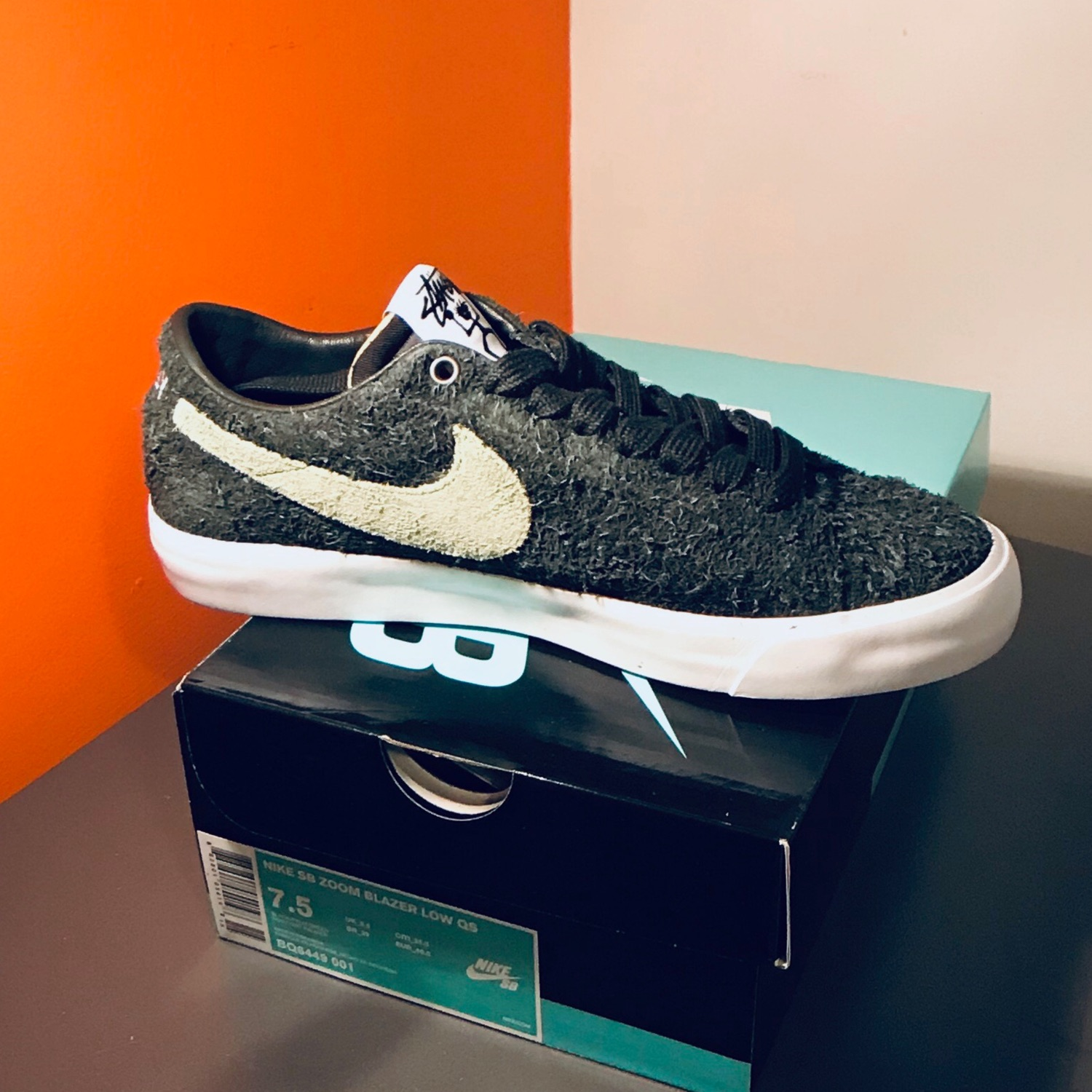 newest f528d 9bb4e Stussy X Nike Sb Zoom Blazer Low