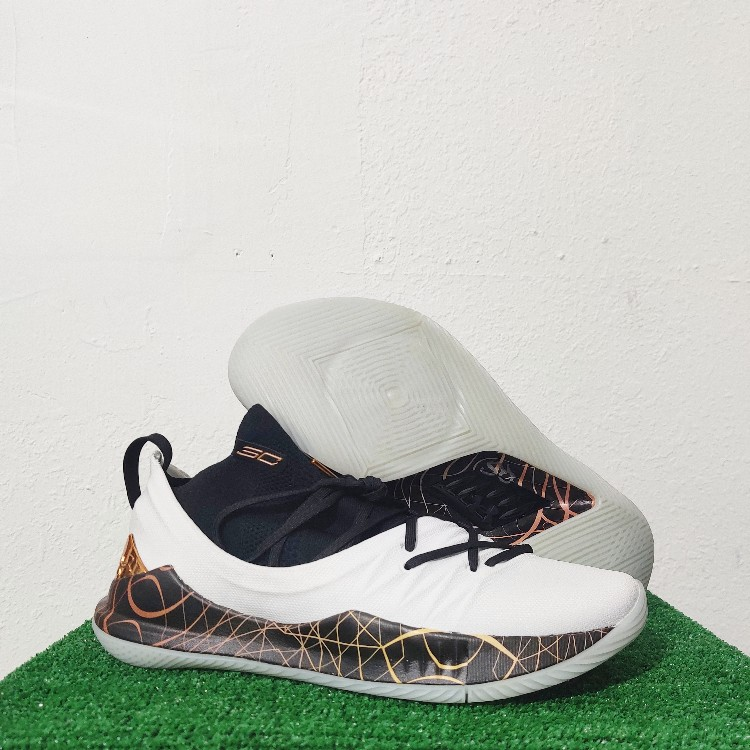 TB Basketball Shoes Copper White