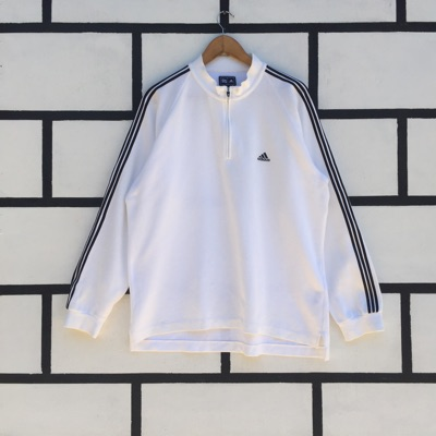 Adidas Sweatshirt Half Zip Up