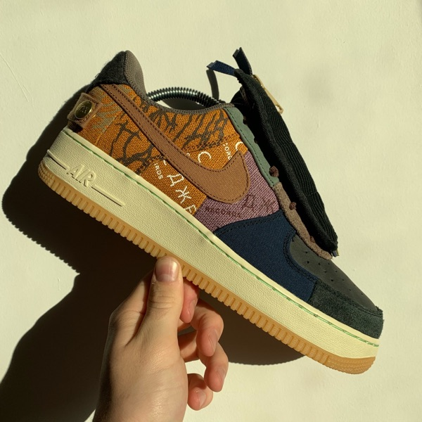 Nike / Travis Scott Cactus Jack Air Force 1 Uk 8.5
