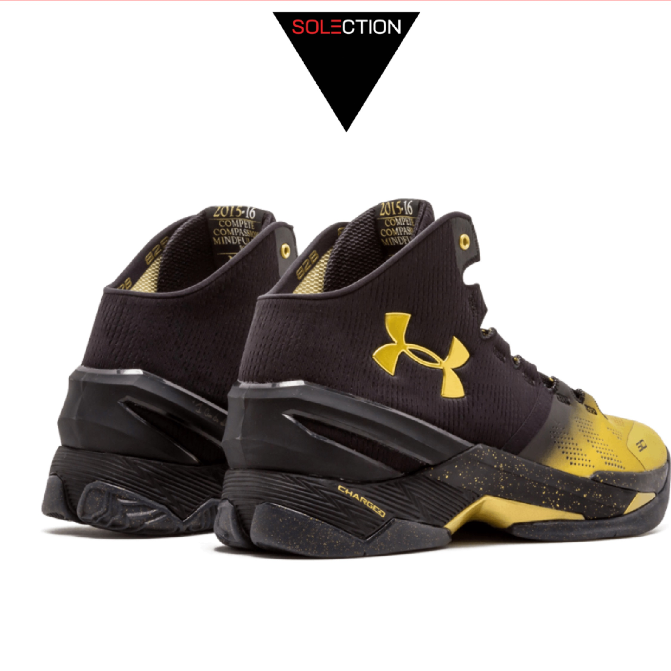 wholesale dealer 77aa4 52729 Under Armour Curry 2 Back 2 Back Mvp