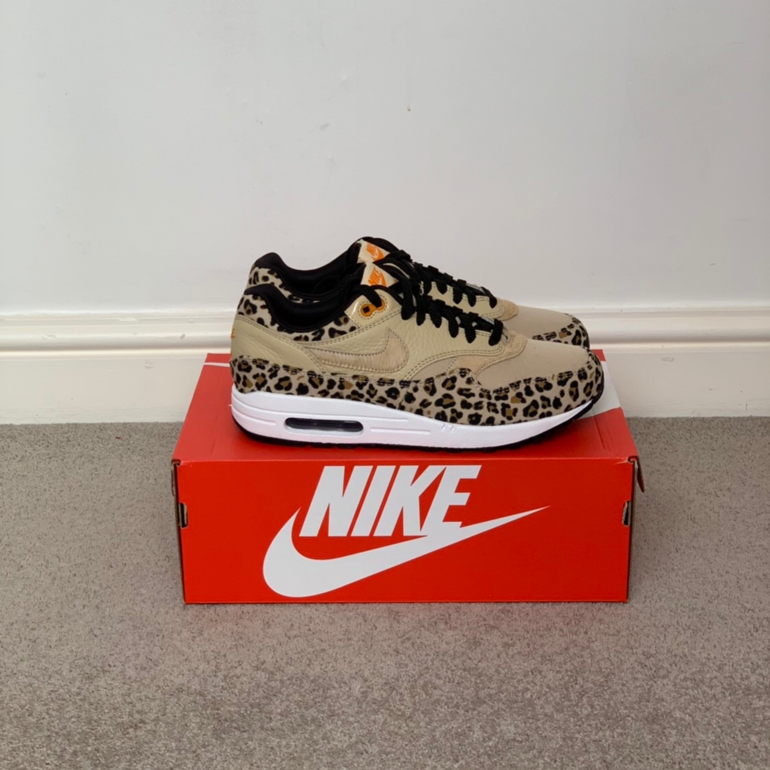 Nike Air Max 1 Safari Leopard Print