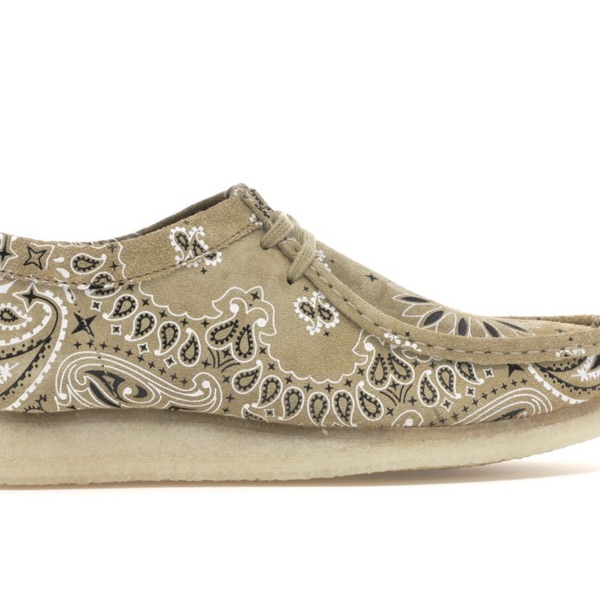 Clarks Originals Wallaby Supreme Bandanna Khaki