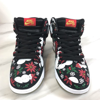 Concepts X Nike Ugly Christmas Sweater Dunks
