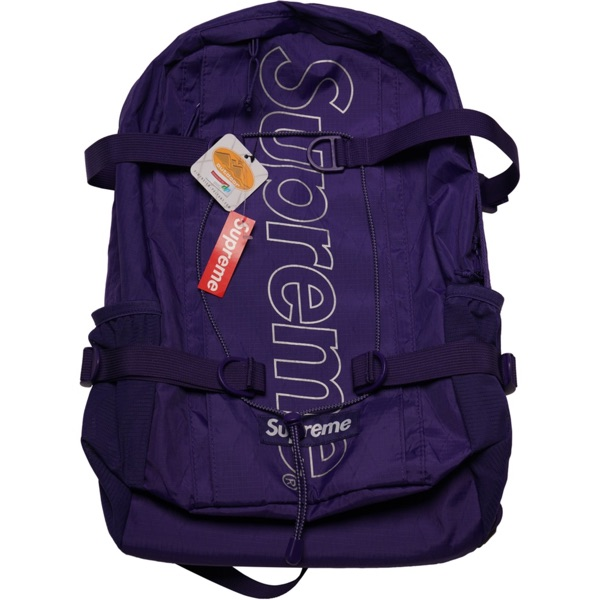 Supreme Fw18 Backpack, Size: Os (Purple)