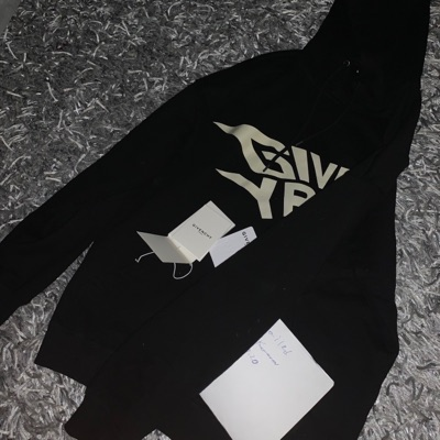 Givenchy Glow In The Dark Hoodie