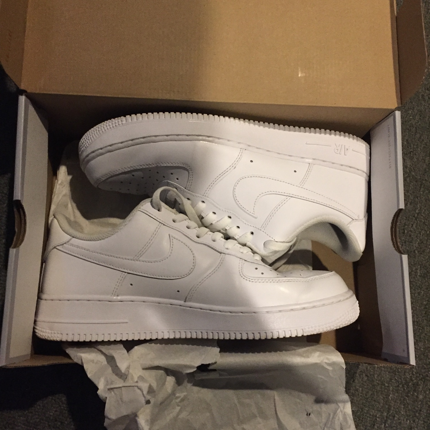 Nike Air Force 1 White Size 10 Us Used