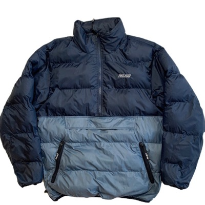 Palace Puffer Jacket - Half Zip Pullover