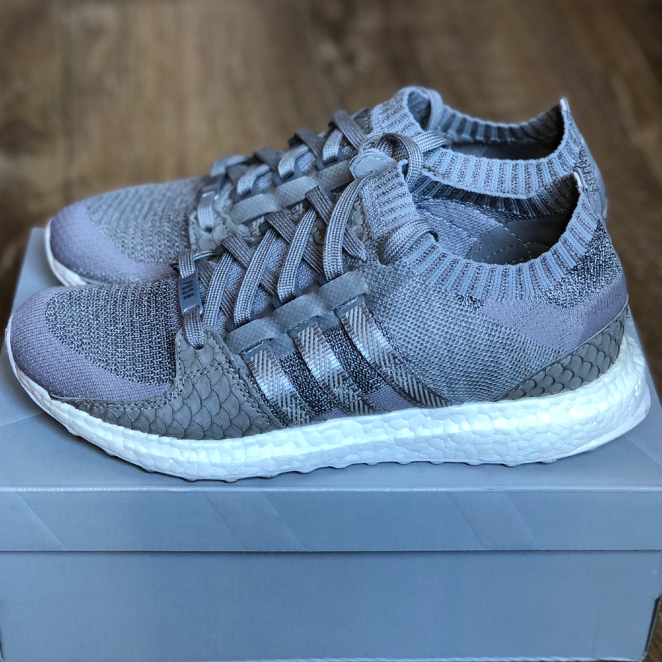 "online store 20925 0fd91 Adidas X Pusha T ""King Push"" Eqt Ultra Boost"