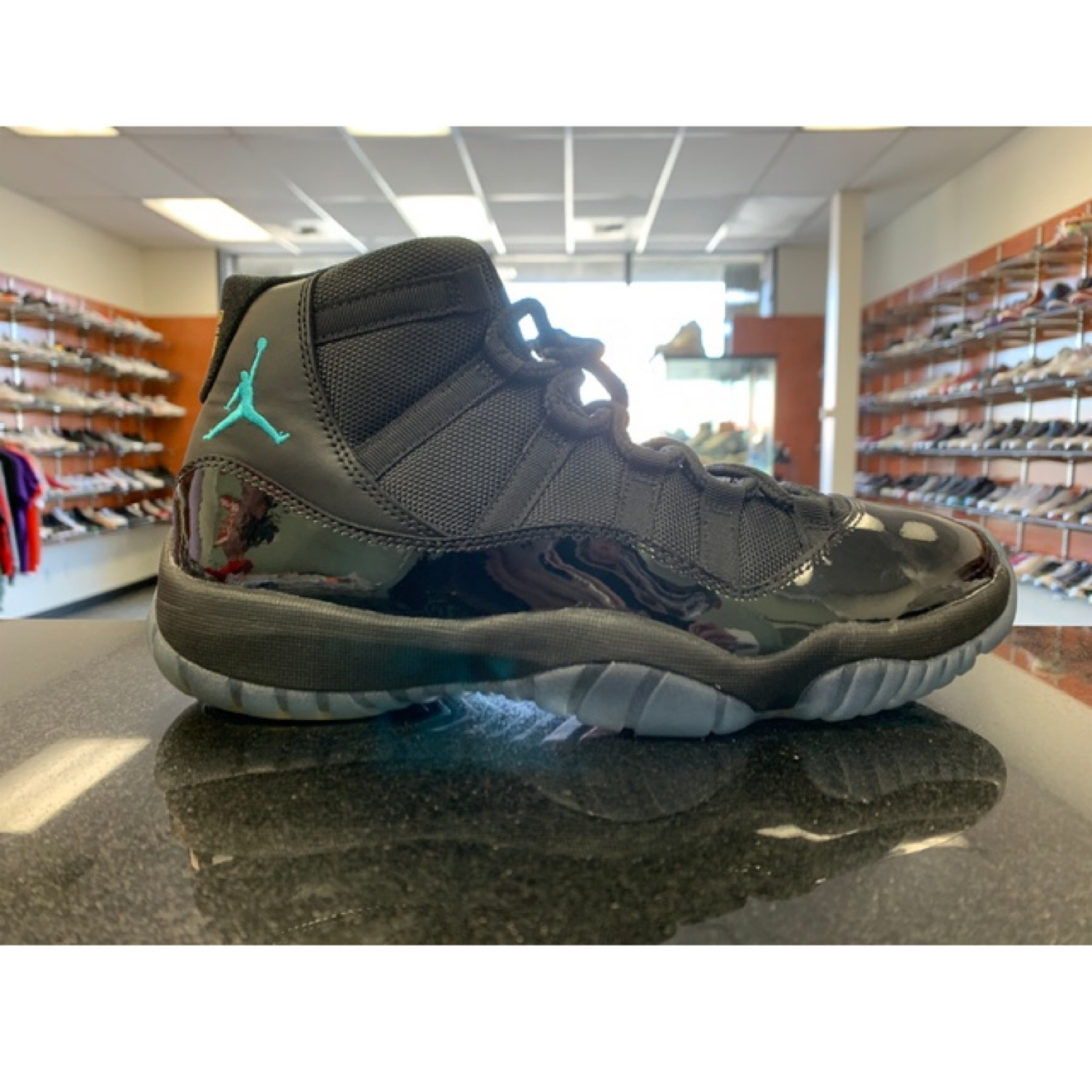 finest selection 05f11 e9bfe Nike Air Jordan 11 Gamma Blue Black