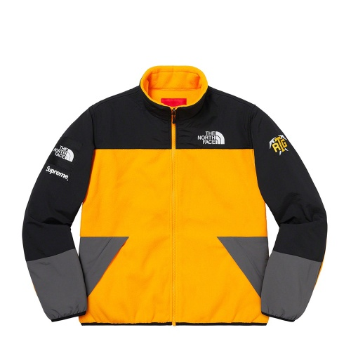 Supreme The North Face RTG Fleece Jacket Yellow