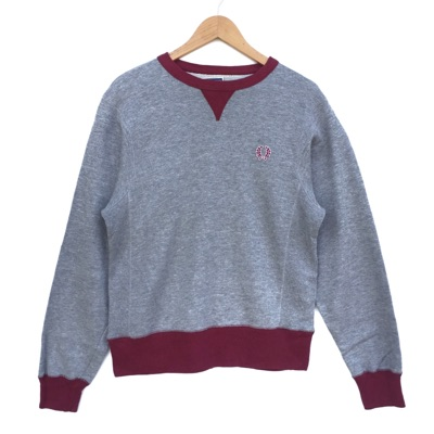 Fred Perry Crewneck Sweatshirt Vintage 90'S Grey