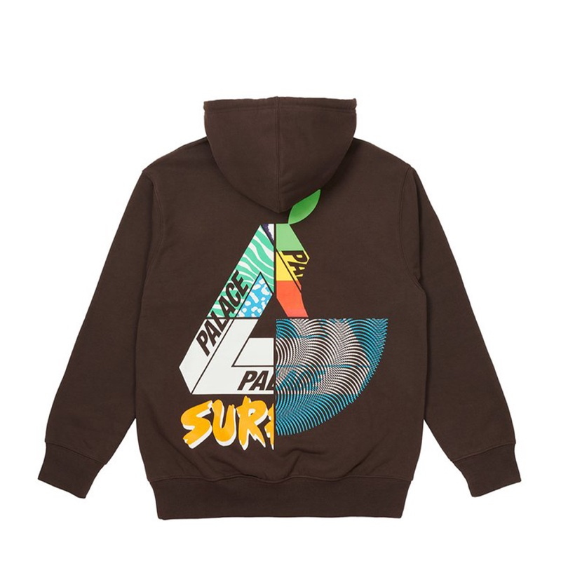Palace Mix Up Hood Brown