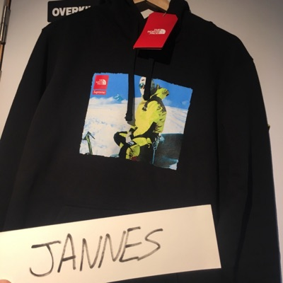 Supreme/Tnf Photo Hooded Sweatshirt