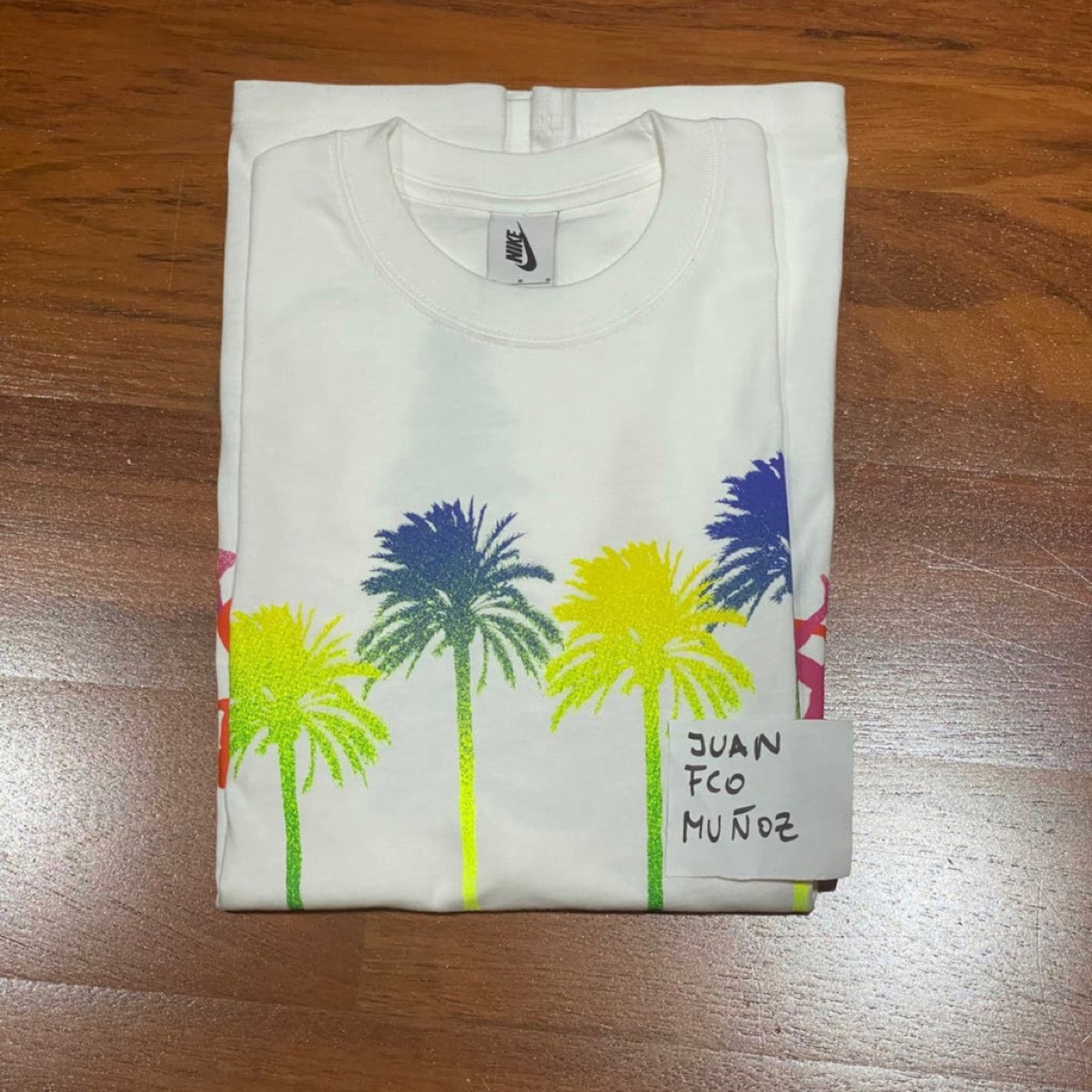 Nike X Stussy Tshirt Firs To Palm Trees