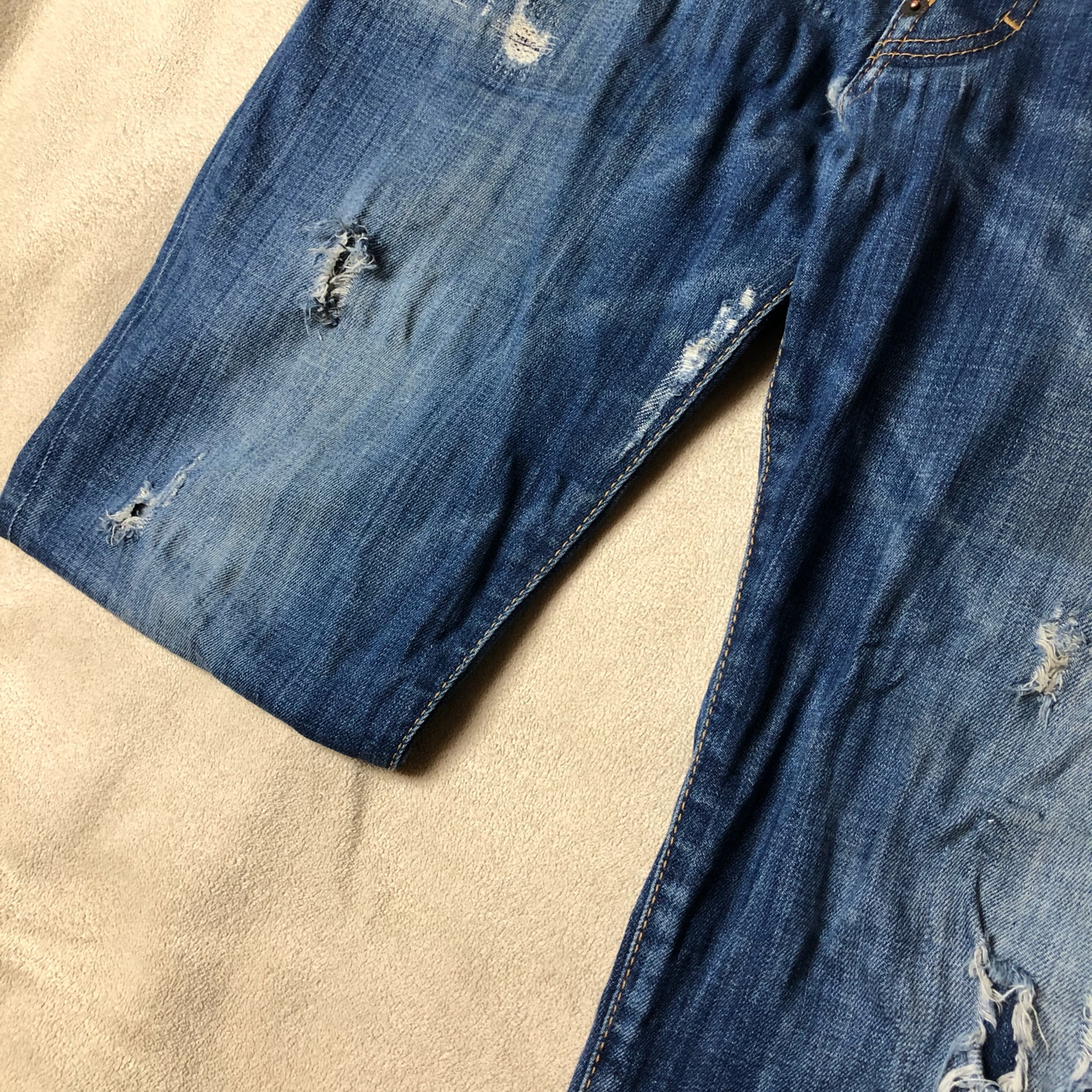 Dsquared2 Denim Ripped Men's Jeans Real