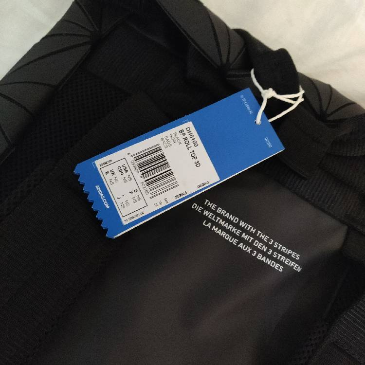 competitive price ca7f1 36ddd Adidas Originals 3D Roll Top Backpack