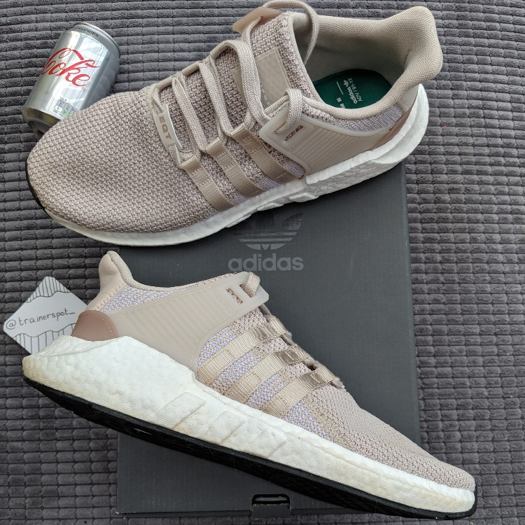 adidas EQT Support ADV Equipment Trainers Shoes Black White Grey UK 10 10.5 11