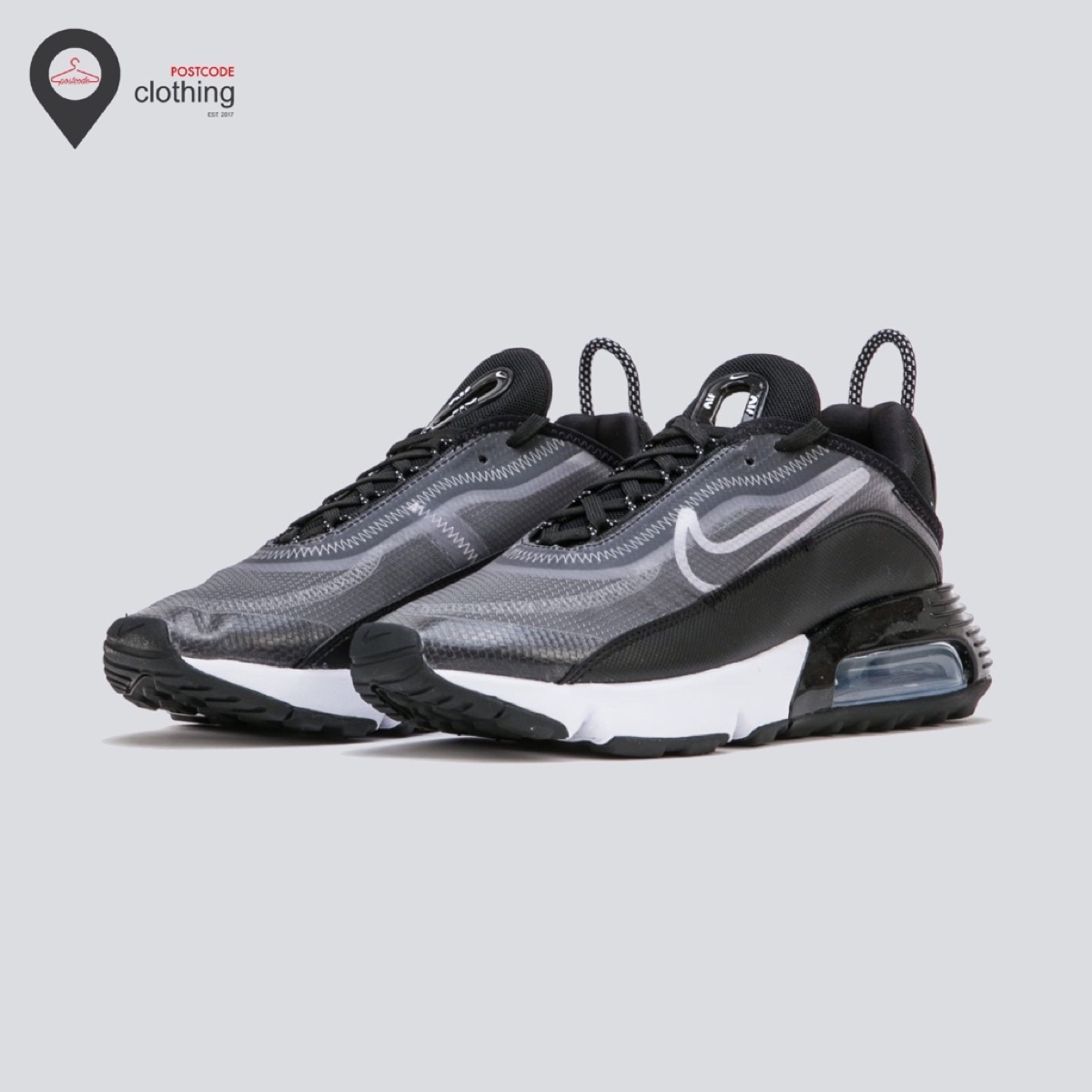 Nike W Air Max 2090 - Black/White/Metallic Silver