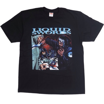 Supreme Liquid Swords Tee Black