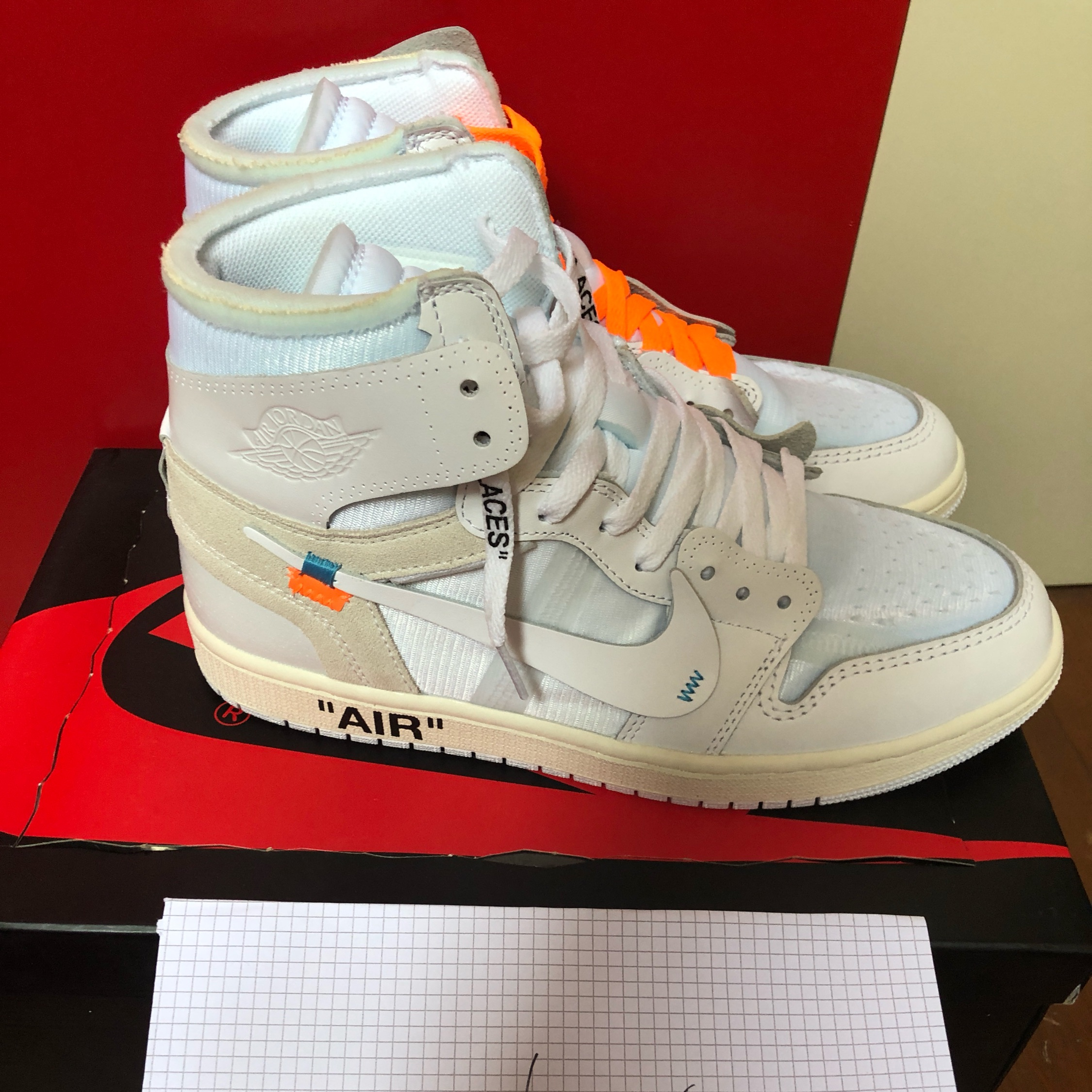 "the latest c0df2 022bc Nike Air Jordan 1 X Off White Nrg ""White"""