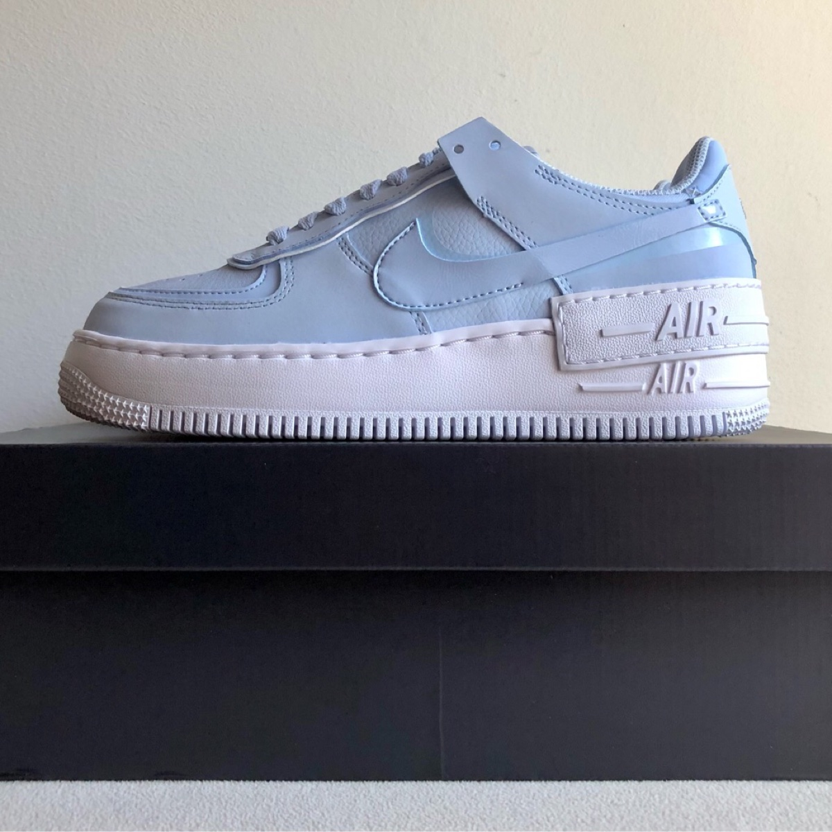 Nike Air Force 1 Shadow Hydrogen Blue 5 UK DS New