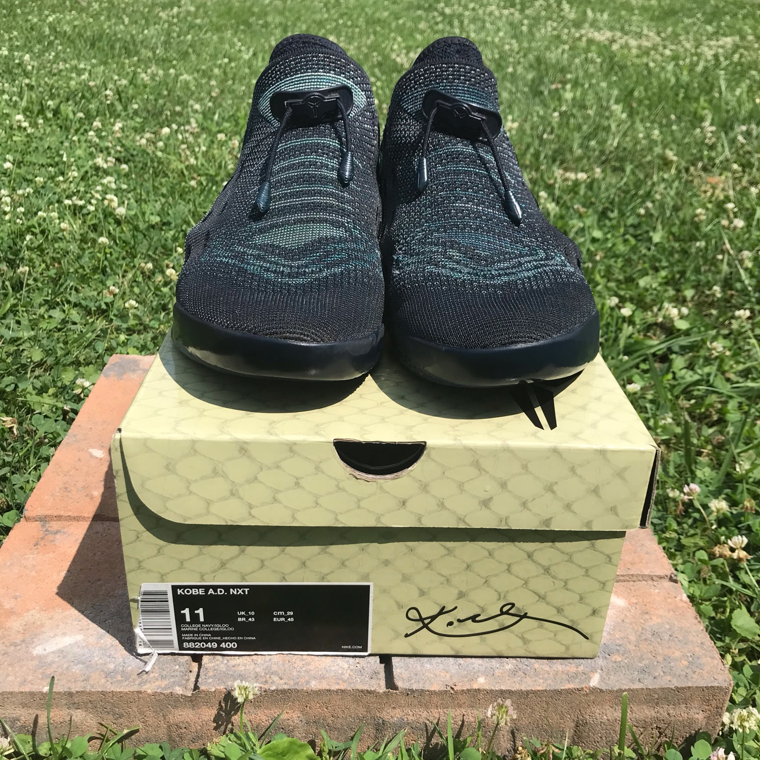 size 40 54db2 17065 Kobe A.D. Nxt Mambacurial