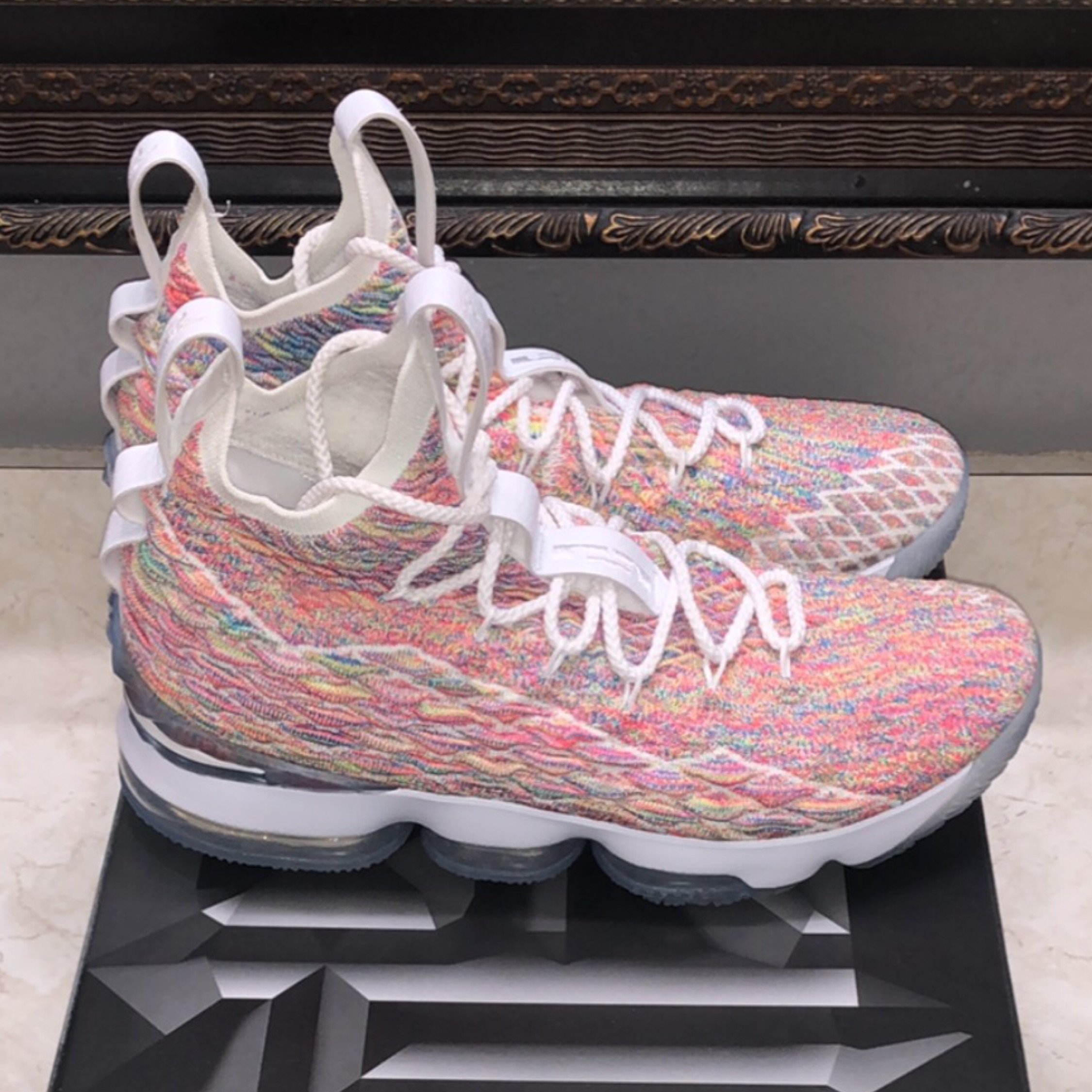 best service c9a07 a6fb8 Lebron 15 Cereal/Fruity Pebbles