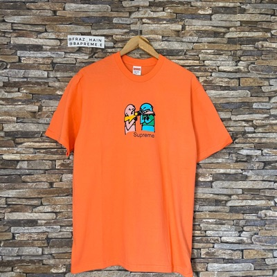 Supreme Bite Tee Neon Orange