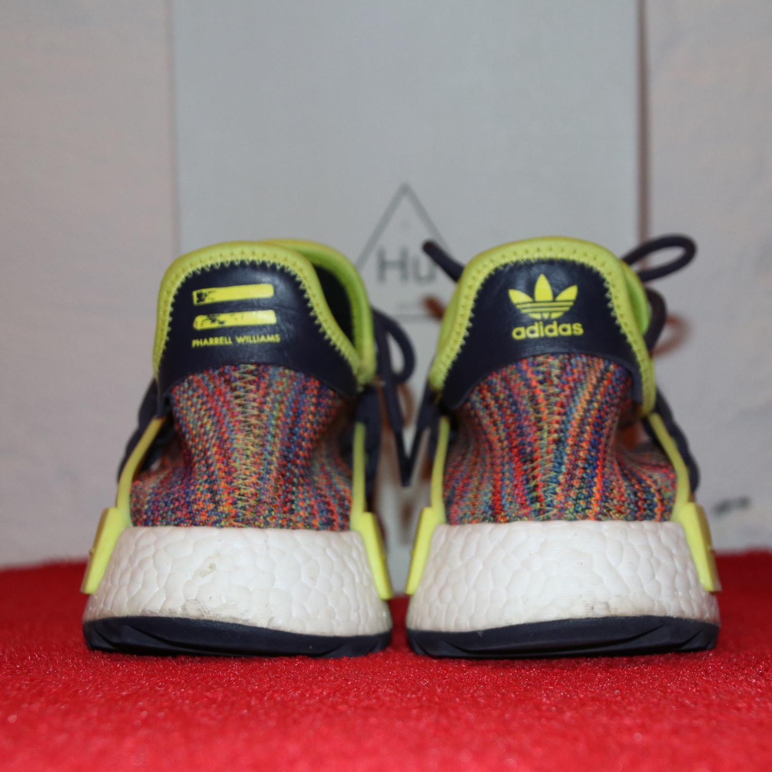 super popular 9fbb8 e92eb Addidas Human Race Nmd Pharrell Multi-Color