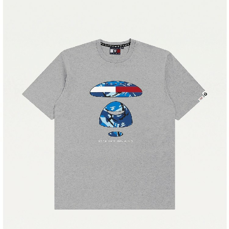 TOMMY JEANS X AAPE LOGO-T-SHIRT