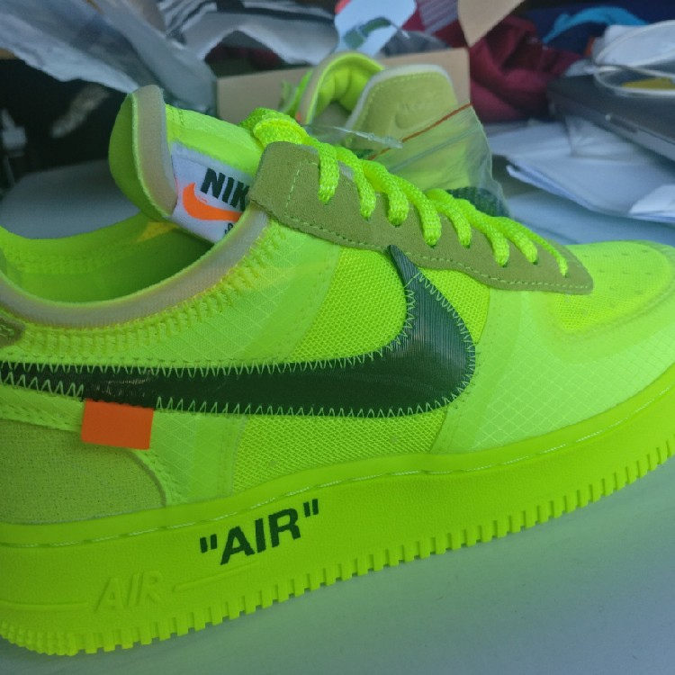 *DEFECT* NIKE AIR FORCE 1 LOW VOLT OFF WHITE | SIZE 7 US | 40 EU