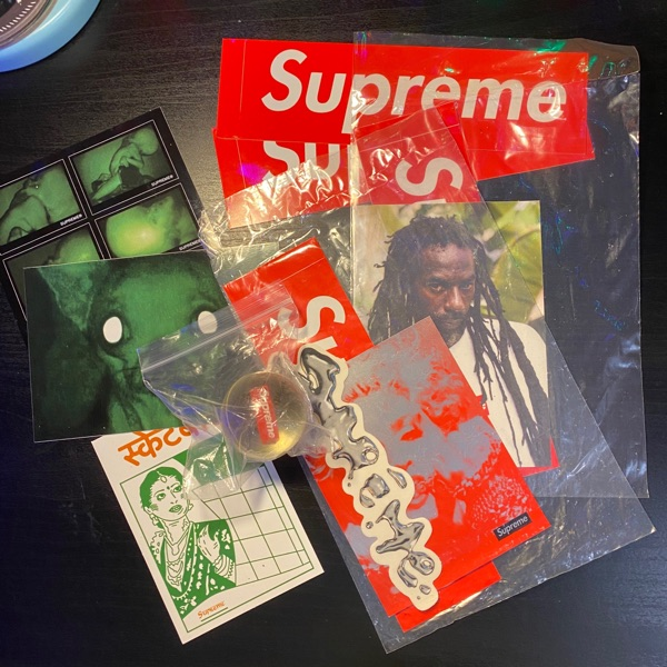 Supreme Stickers/Bouncy Ball